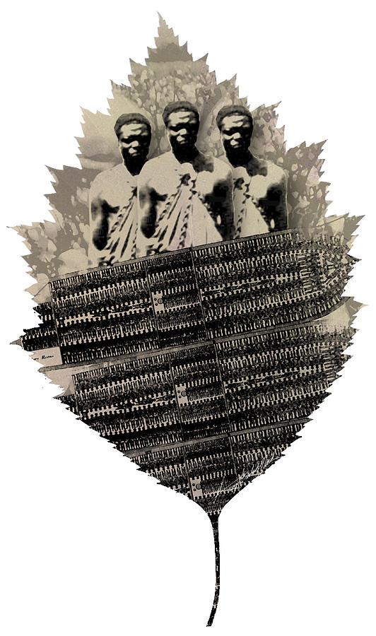 Slavery Painting - Strange Cargo by George Frederick Nash