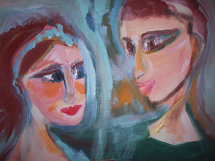 Strange Painting - Strange Dear Ballet by Judith Desrosiers