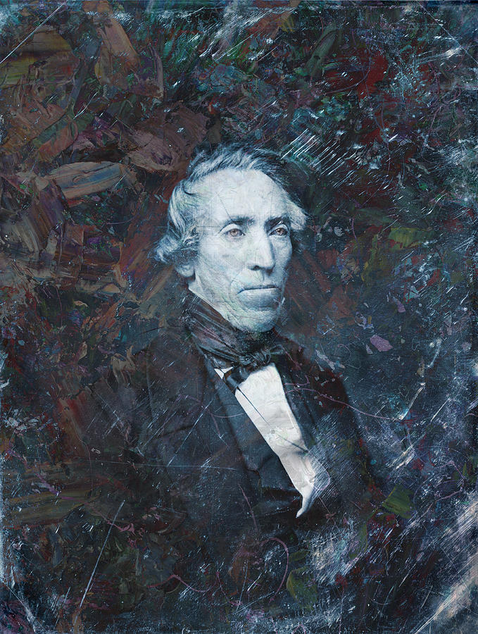 Daguerrotype Painting - Strange Fellow 1 by James W Johnson