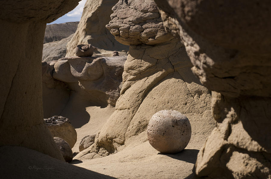 Beautiful Photograph - Strange Rocks 17  by Roger Snyder