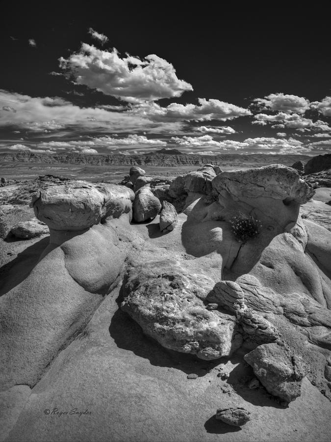 Beautiful Photograph - Strange Rocks 33 by Roger Snyder