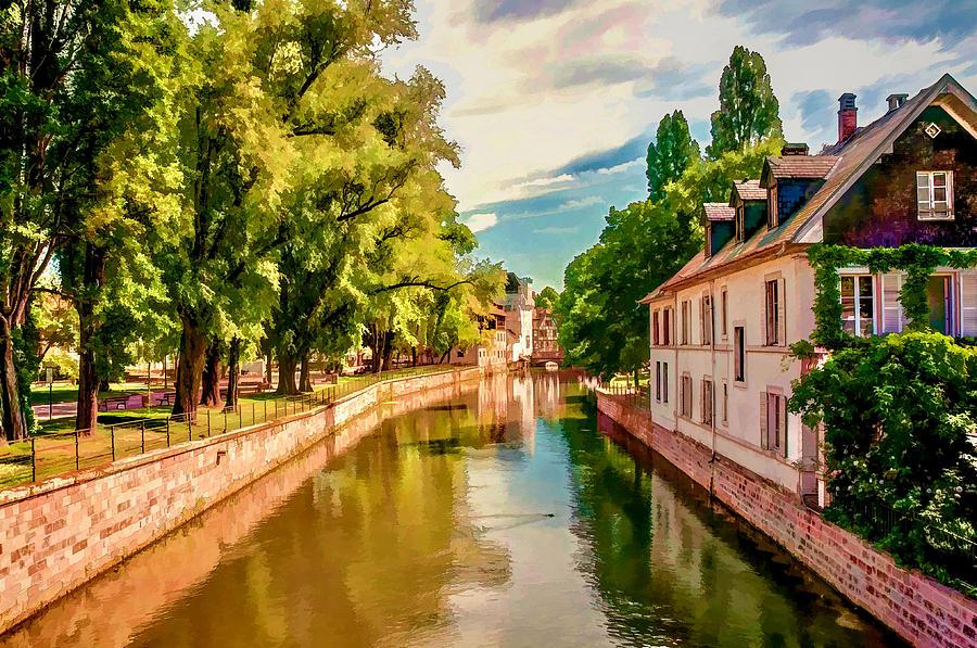Strasbourg Scene Photograph