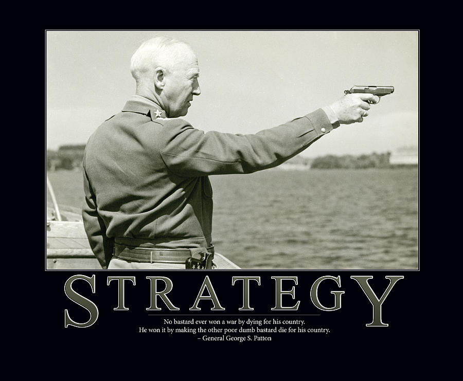 Strategy General George S. Patton Photograph by Retro Images Archive