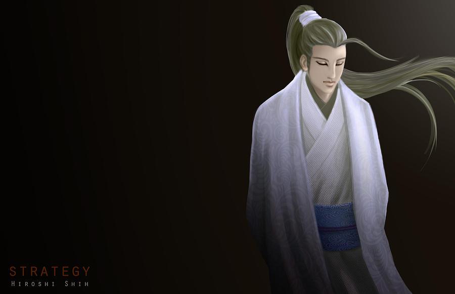 Hiroshi Painting - Strategy Ver.b by Hiroshi Shih