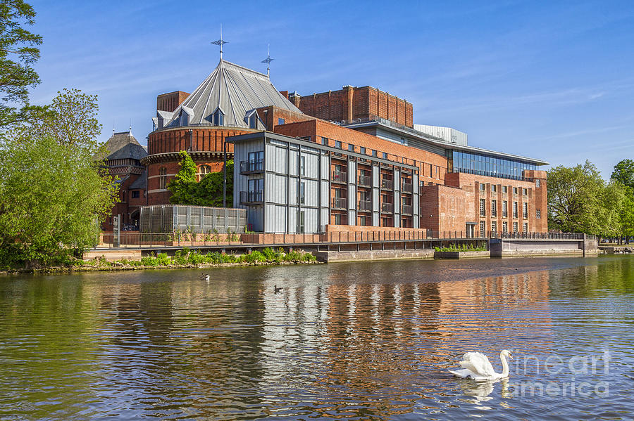 Architecture Photograph - Stratford Upon Avon Royal Shakespeare Theatre by Colin and Linda McKie