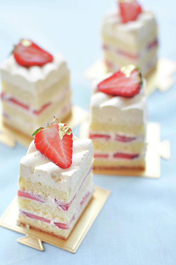 Strawberry Cake Photograph by All Rights Reserved @tailortang