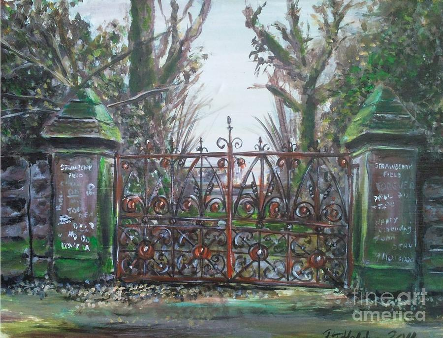 Liverpool Painting - Strawberry Fields Forever by Richard John Holden RA