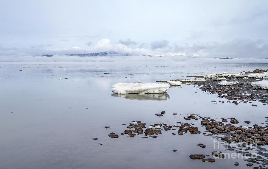Iceland Photograph - Stream Of Stillness by Evelina Kremsdorf