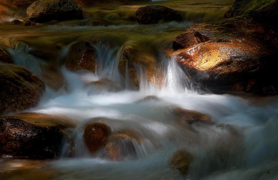 Stream Photograph - Streamlight by Randolph Fritz