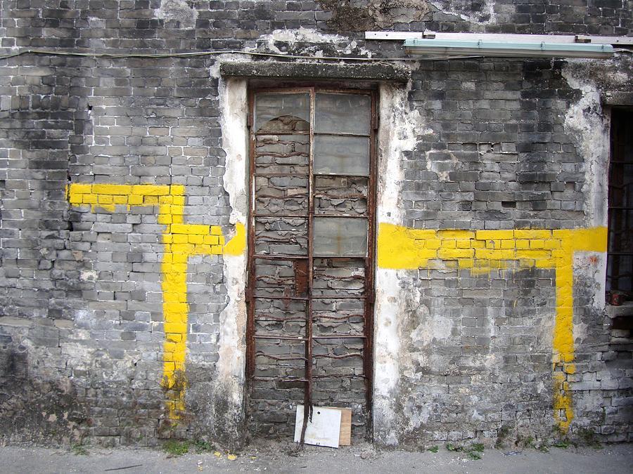 Wall Photograph - Street House Art - Macau, China by Ian Mcadie