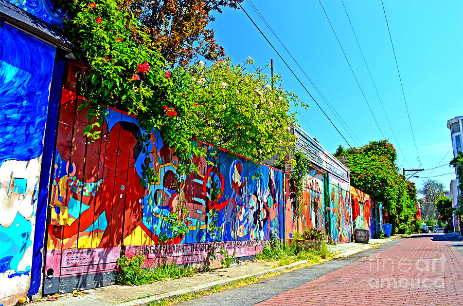 Destroyed Photograph - Street Art In The Mission District Of San Francisco IIi by Jim Fitzpatrick