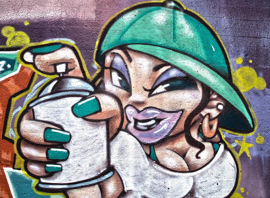 Graffiti Photograph - Street Art Xi by Roger Lapinski