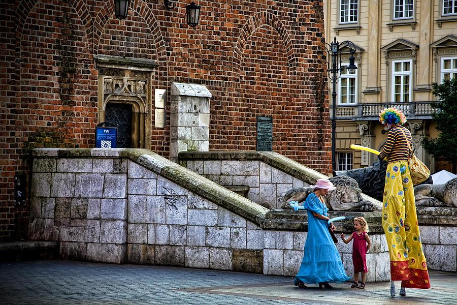Street Artists Photograph - Street Artists by Joanna Madloch