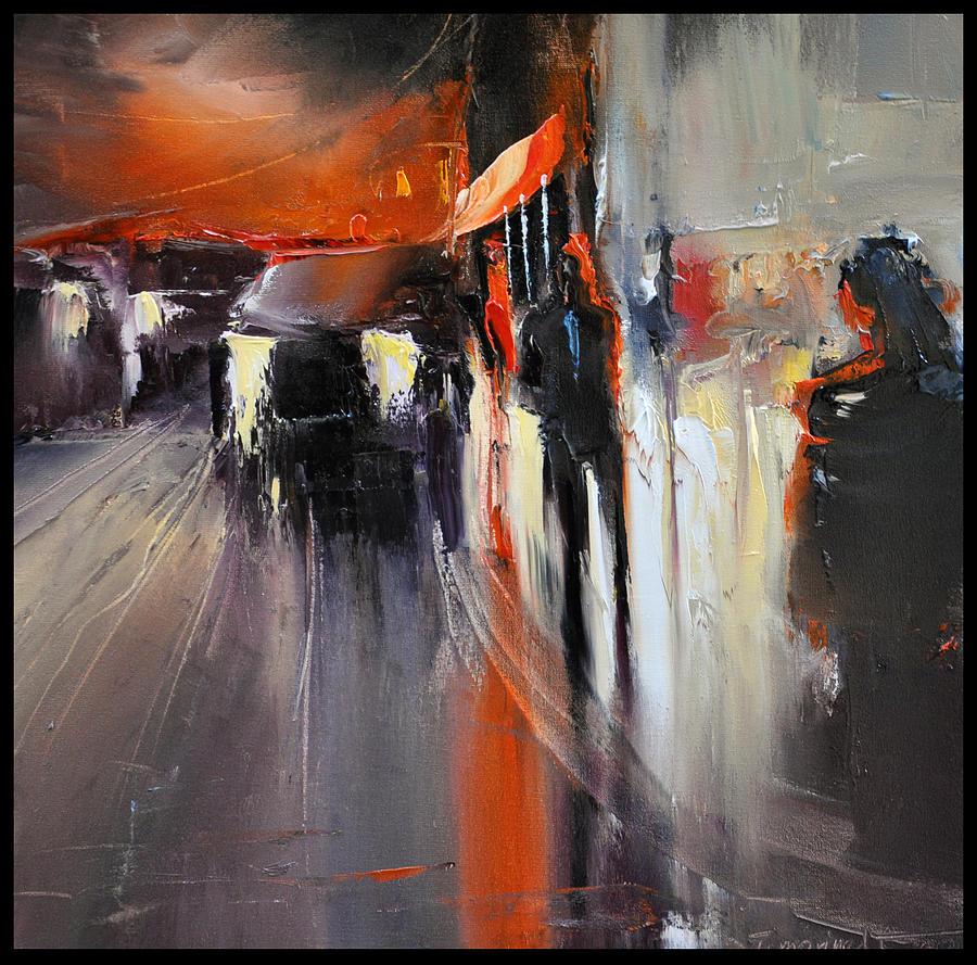 Street Painting - Street by David Figielek