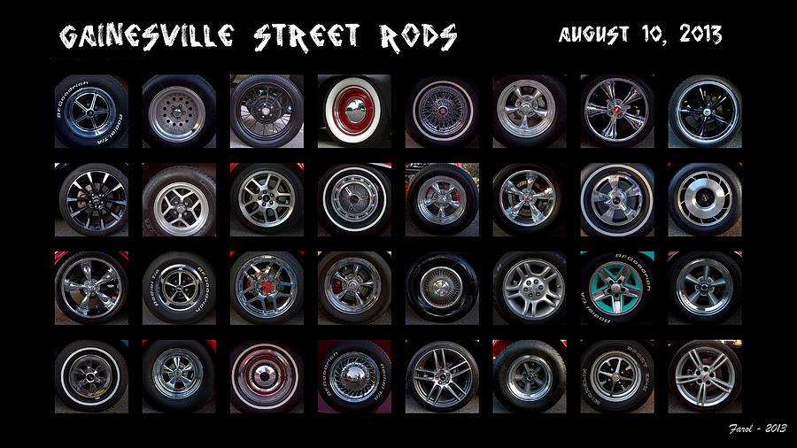 Wheels Photograph - Street Hot Rod Wheels by Farol Tomson