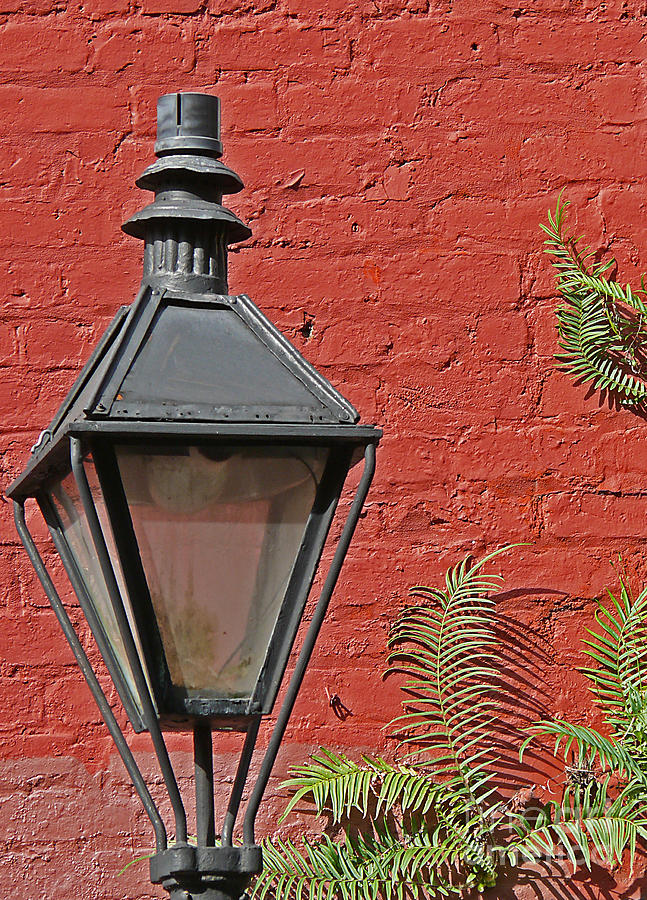 New Orleans Photograph - Street Lamp by Jeanne  Woods