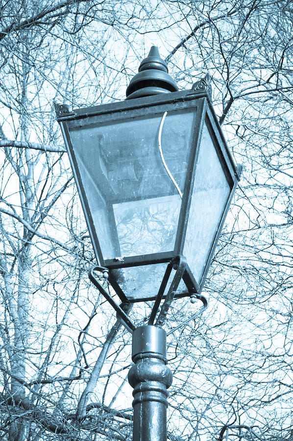 Antique Lantern Photograph - Street Lamp by Tom Gowanlock
