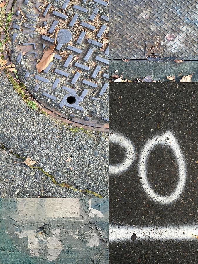 Street Photograph - Street Level by Nancy Merkle