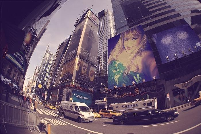 Colors Digital Art - Street Of New York by HollyWood Creation By linda zanini