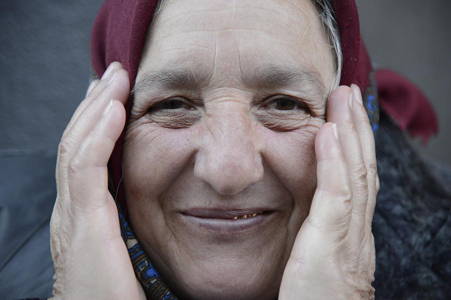 Fine Photograph - Street People - A Touch Of Humanity 22 by Teo SITCHET-KANDA