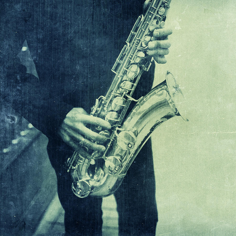 Street Saxophonist Detail Photograph by Thepalmer