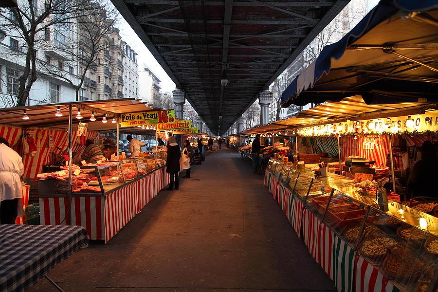 Paris Photograph - Street Scenes - Paris France - 011316 by DC Photographer