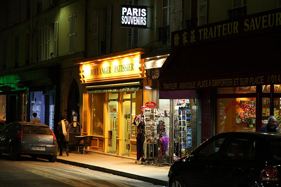 Paris Photograph - Street Scenes - Paris France - 011322 by DC Photographer