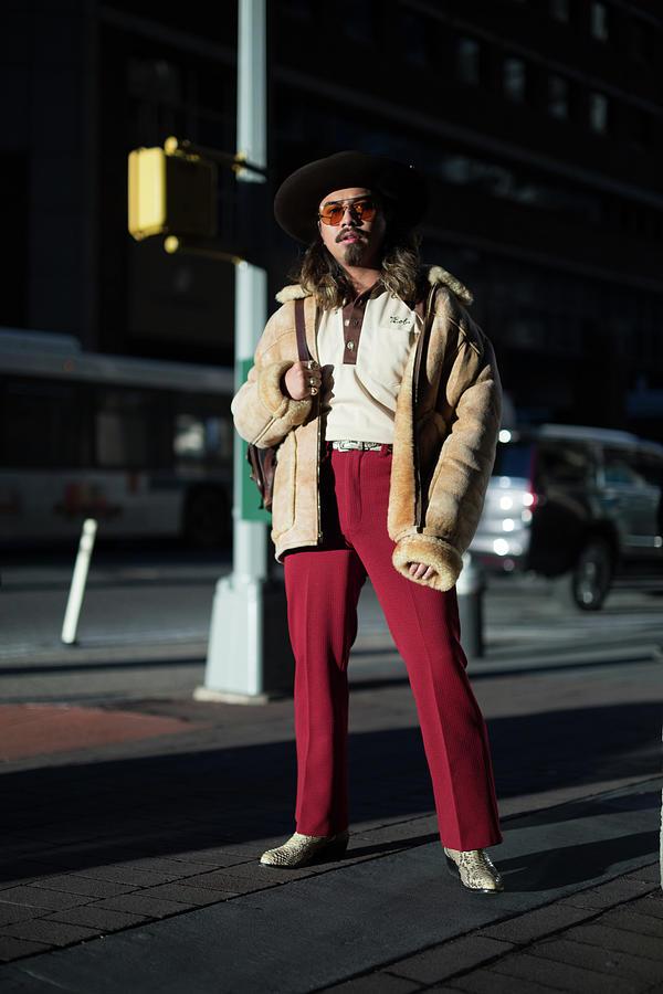 Street Style - New York City - February Photograph by Matthew Sperzel