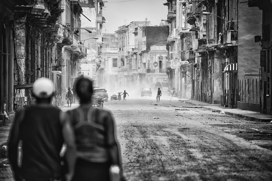 City Photograph - Street Theater by Pavol Stranak