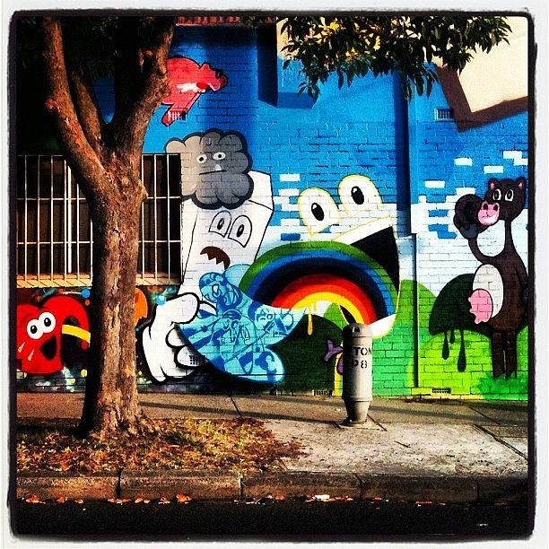 Melbourne Photograph - #streetart In #melbourne ##cutecow by Katie Ball