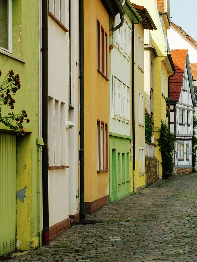 Streets In Fulda - Traditional Photograph by Toutouke