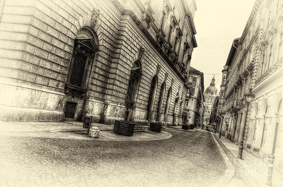 Budapest Photograph - Streets Of Budapest by Mohamed Rahmo