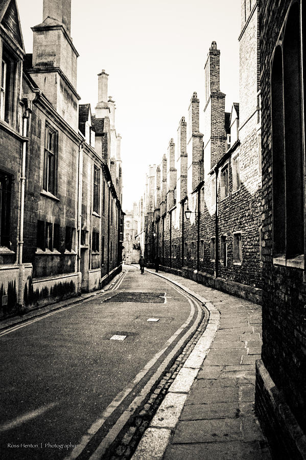 Cambridge Photograph - Streets Of Cambridge - For Eugene Atget by Ross Henton