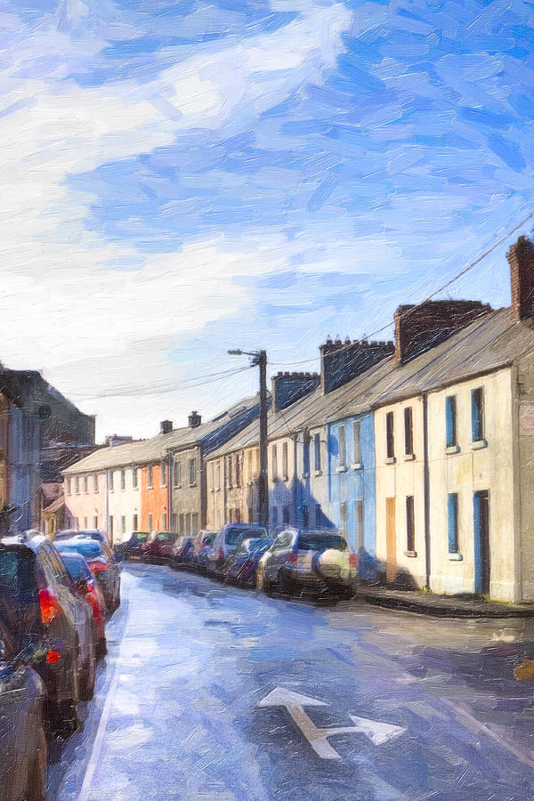 Galway Photograph - Streets Of Galway On A Winter Morn by Mark E Tisdale