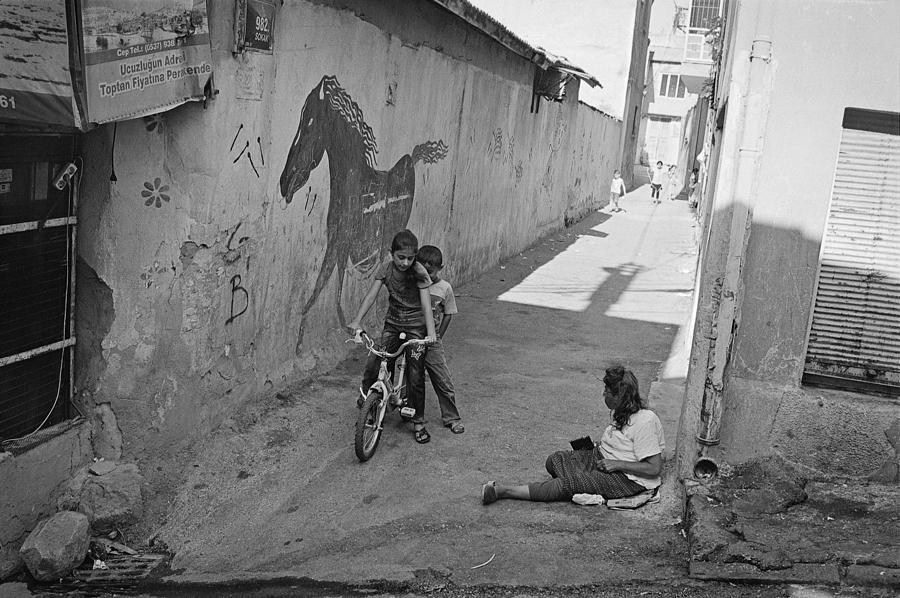 Street Photography Photograph - Streets Of Kadifekale District by Ilker Goksen