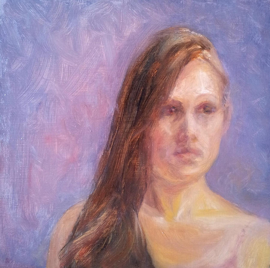 Portrait Painting - Strength And Beauty - Mariah by Quin Sweetman