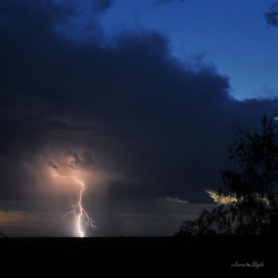 Texas Photograph - Strike by Karen Slagle