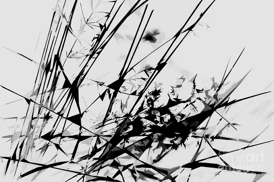 Abstract photograph strike out black and white abstract by natalie kinnear
