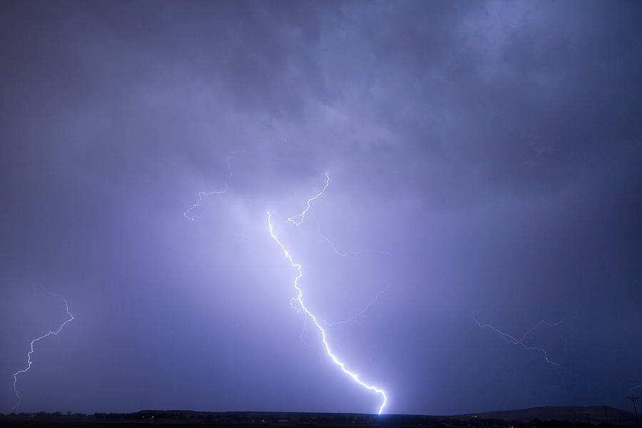 Lightning Photograph - Striking Distance by James BO  Insogna