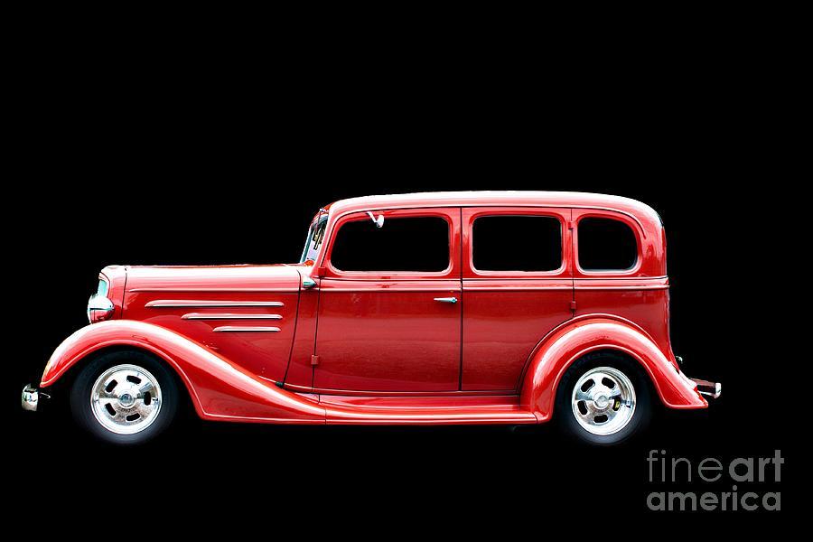 Car Photograph - Striking In Red by Deborah Adkins
