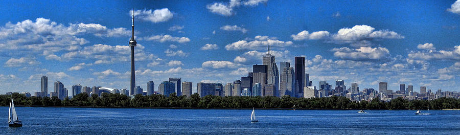 Toronto Photograph - Striking Toronto Skyline by Jo Ann