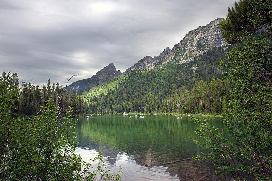 String Lake, Wyoming Photograph by Gail Shotlander