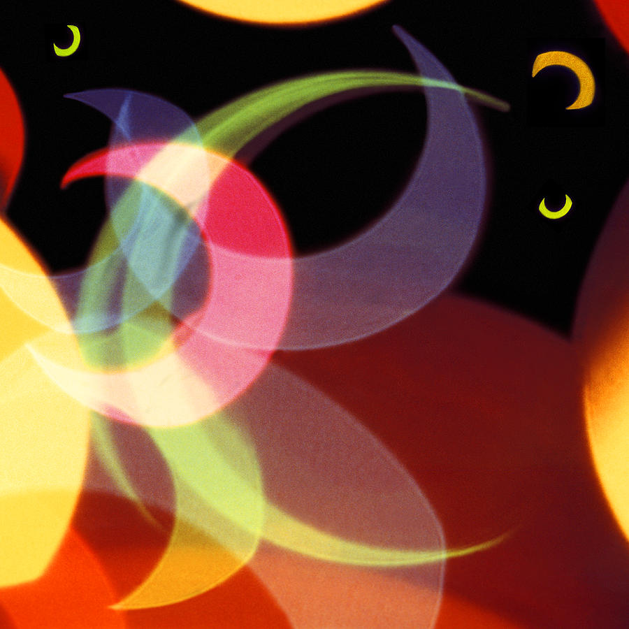 Abstract Photograph - String Of Lights 1 by Mike McGlothlen