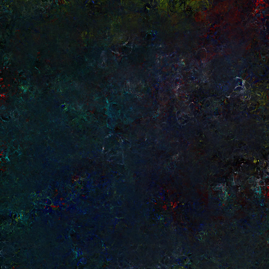 Abstract Expressionism Digital Art - String Theory by Jeff Montgomery