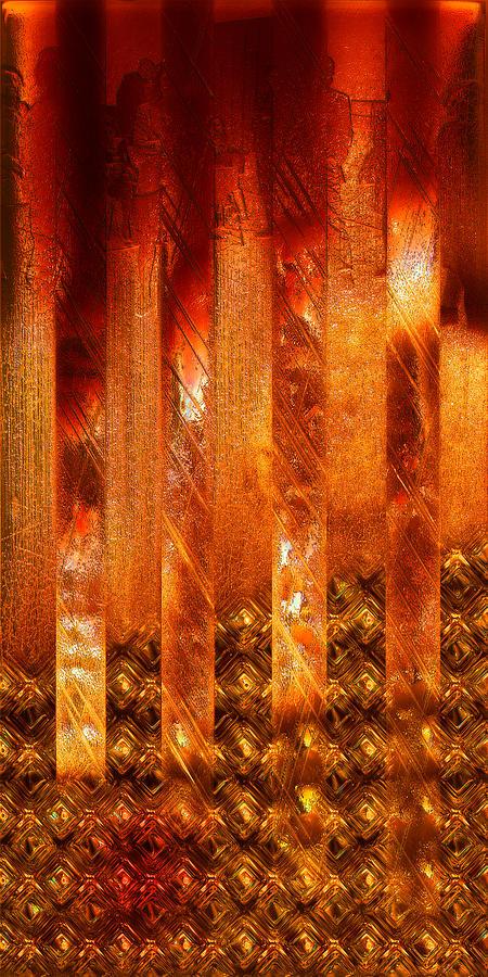 Avantgarde Photograph - Stripes Forming by Li   van Saathoff
