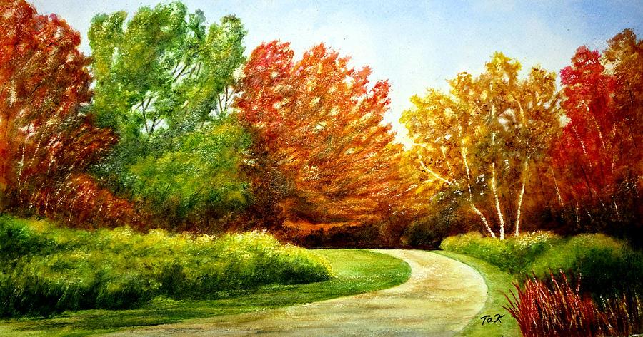 Stroll Into Autumn by Thomas Kuchenbecker