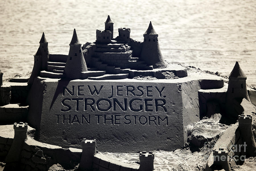 Stronger Than The Storm Photograph - Stronger Than The Storm by John Rizzuto