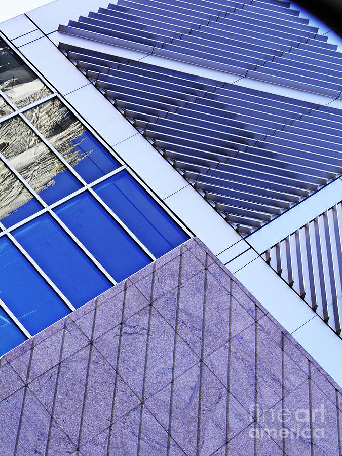Building Photograph - Structural Abstract 7 by Sarah Loft
