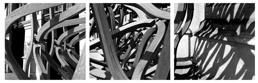Photo Pyrography - Structure #3 by Tom Gallahue