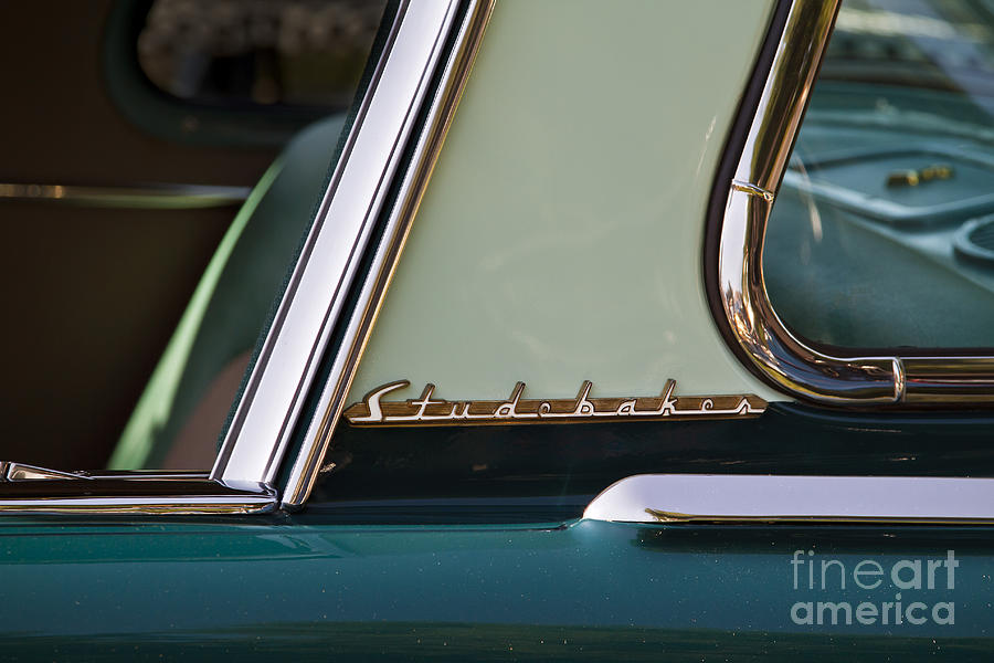 Classic Photograph - Studebaker by Dennis Hedberg